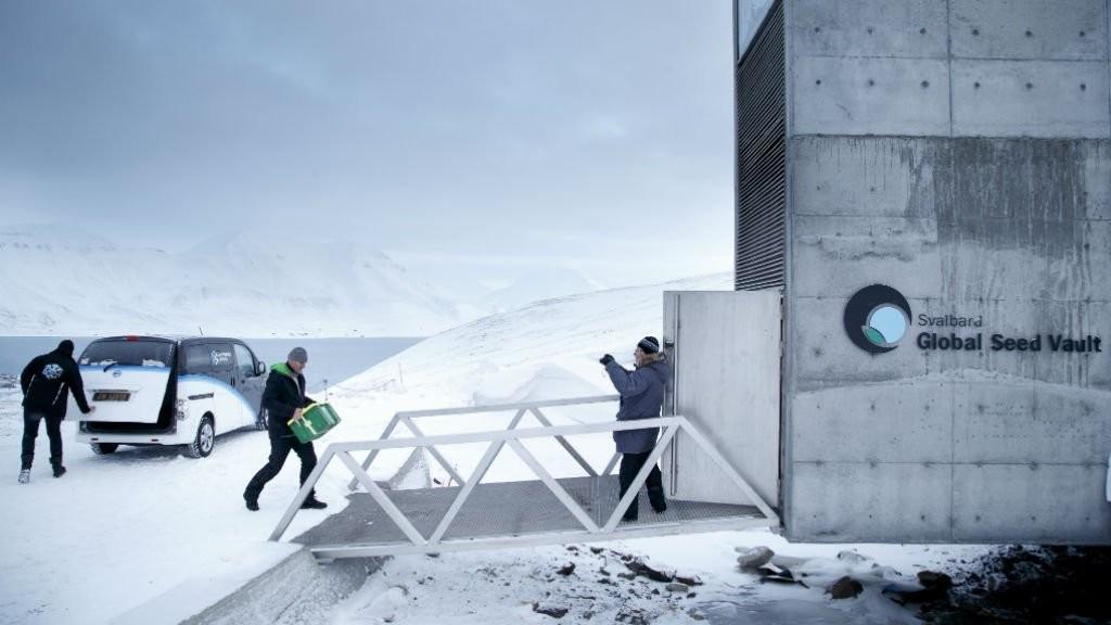 """Après des fuites d'eau, la Norvège renforce la protection de """"l'Arche de Noé végétale"""""""