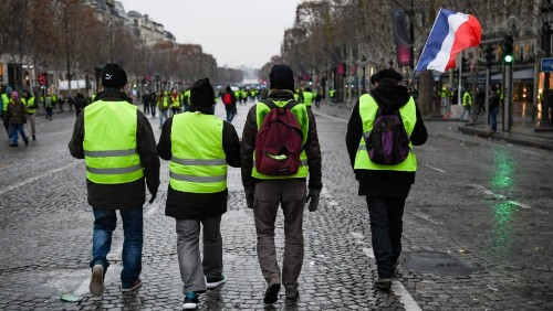 French economic growth slowed down by 'Yellow Vests' protests