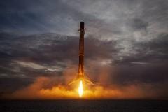 Discover space falcon 9