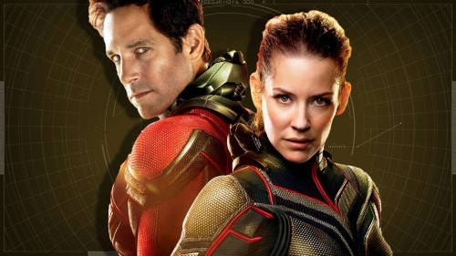 Ant Man & The Wasp - Cover