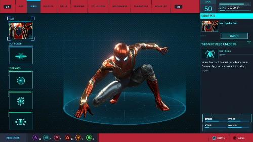 How To Unlock Spider-Man PS4's Avengers Infinity War Suit - GameSpot