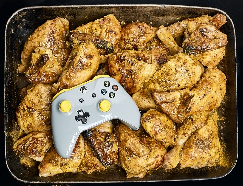 "Behold, A ""Greaseproof"" Xbox One Controller - GameSpot"