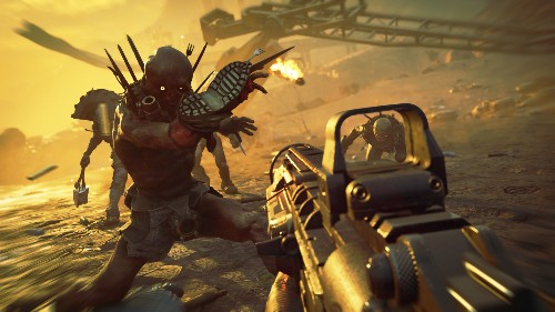 Combat In Rage 2 Feels Like Doom, But Its Open World Remains A Mystery - GameSpot