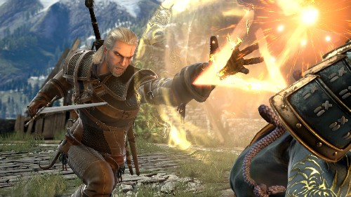 See The Witcher's Geralt Fighting In SoulCalibur 6 - GameSpot