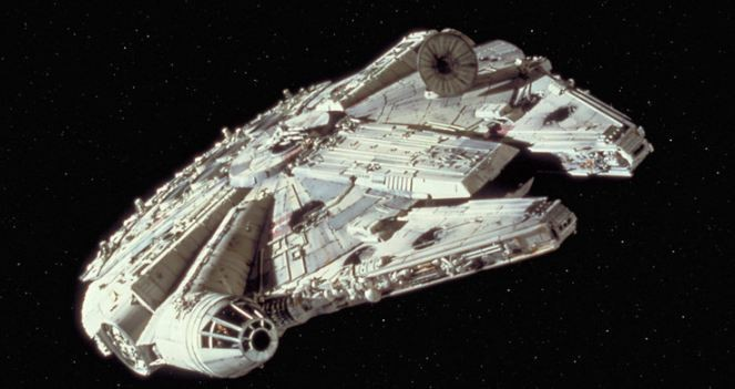See Star Wars 8's Millennium Falcon in New Set Photos