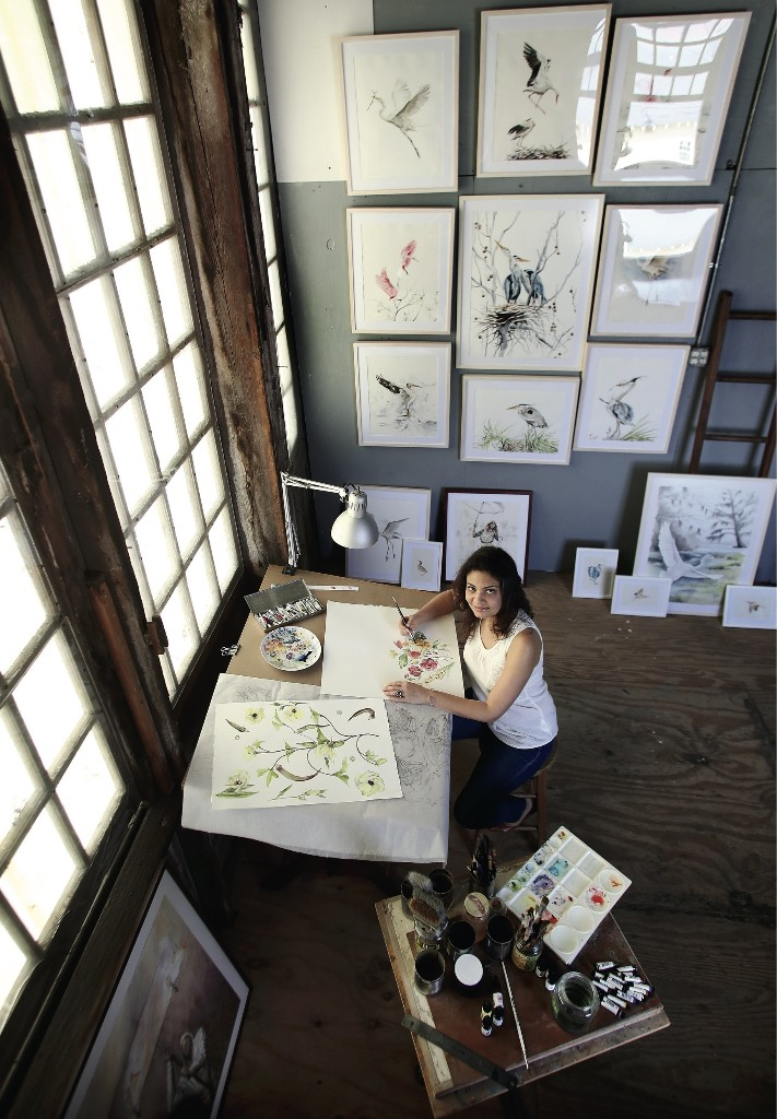 An Artist Drawn to the Beauty of the Bayou
