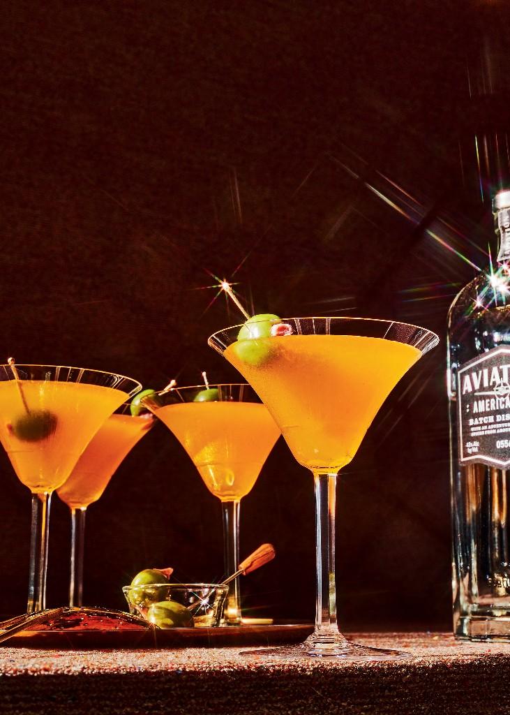 Behold, the Potlikker Martini
