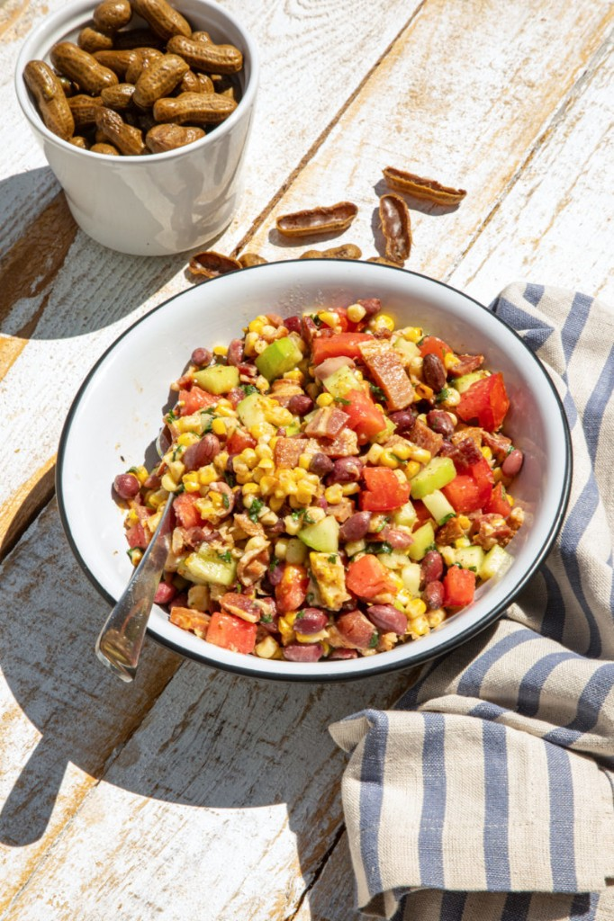 Boiled Peanut Salad with Bacon Dressing – Garden & Gun