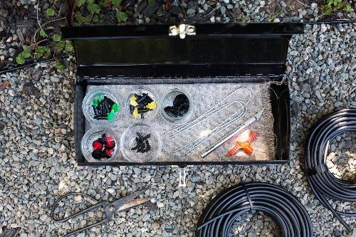 Drip Irrigation: Emergency Repair Kit Essentials - Gardenista