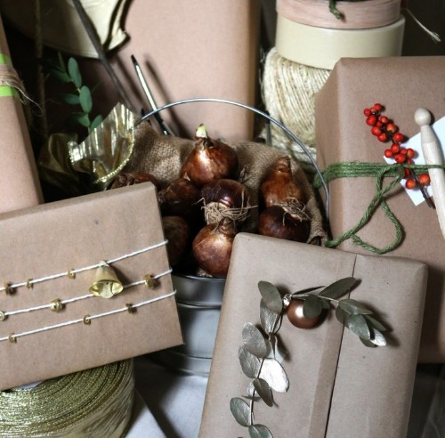 DIY: Gift Wrapping Supplies from a Surprising Source