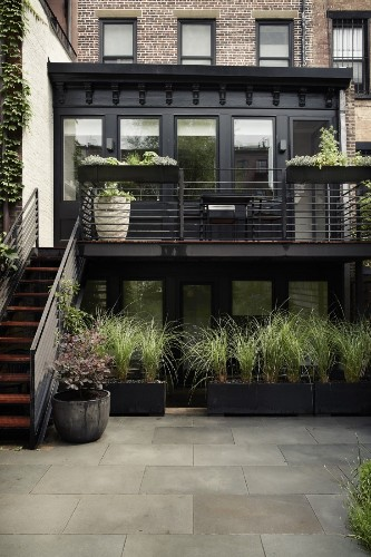 Before & After: A Modern Townhouse Garden in Brooklyn