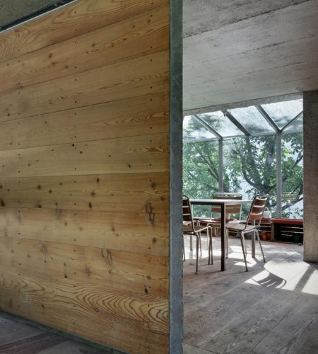 Paradise Found: A Garage Transformed into a Garden Pavilion