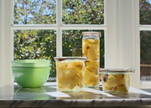 Oven Canning 101: Easy Cardamom Flavored Pears