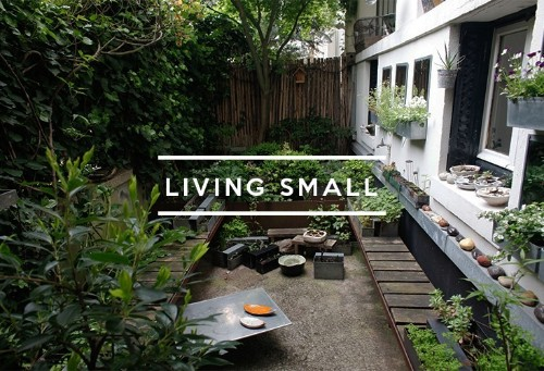 Table of Contents: Living Small