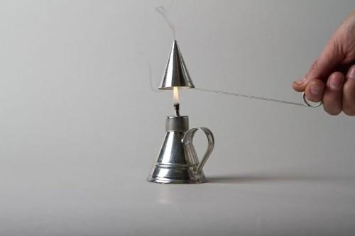 Outdoor Lighting: Tiny Tin Tabletop Lanterns