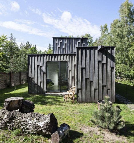 Danish Twist: A Big House Looks Small in the Forest