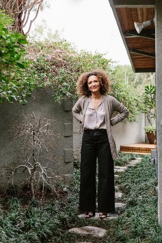 Garden Visit: At Home with LA Designer Pamela Shamshiri in the Hollywood Hills