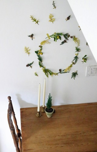 Small Space DIY: Christmas in a Tiny Apartment