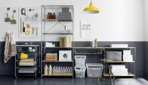Stage a Garage Intervention with Stylish Shelving