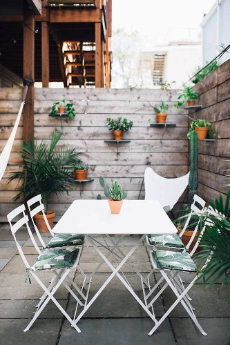 Steal This Look: A Garden Terrace in South Boston