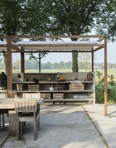 Steal This Look: The Ultimate Outdoor Kitchen
