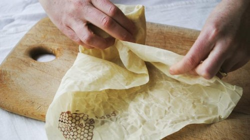Bee's Wrap: Just like Plastic Wrap, Minus the Plastic
