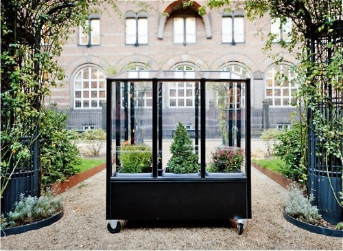 Small Space Gardening: A Tiny Greenhouse on Wheels