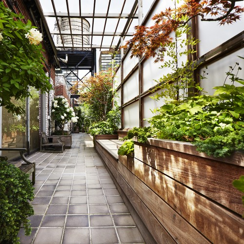 Landscape Design: 10 Simple Layouts for Summer Roof Gardens