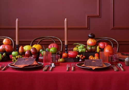 The Best of the Tomatoes: A Joyous Harvest Dinner by David Stark Design