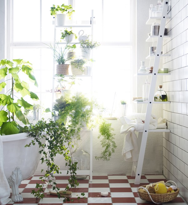 New From Ikea: A Stepladder Shelf for Plants