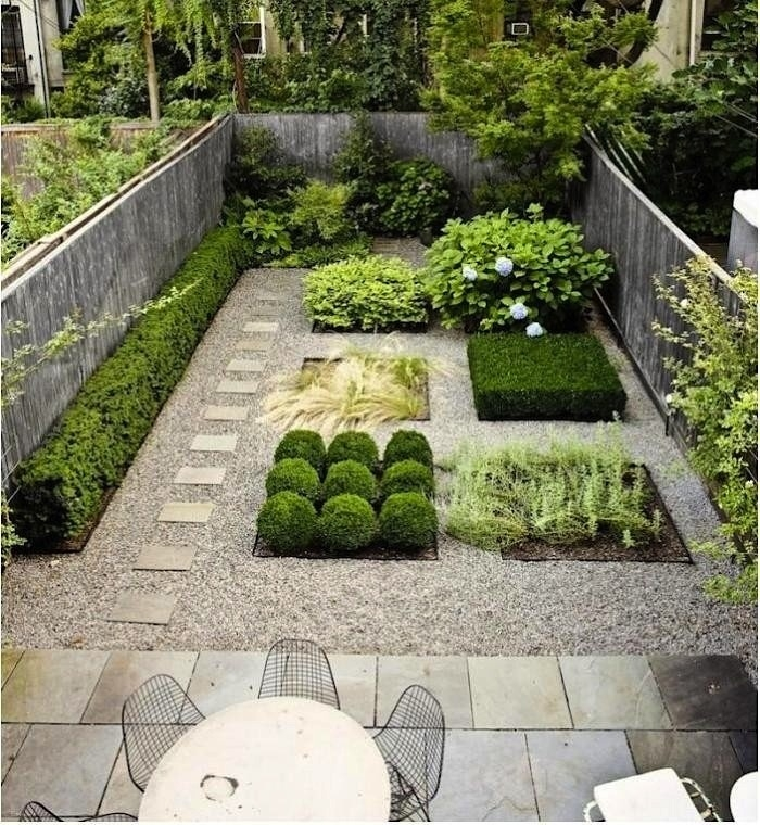 Amazing backyard view - Magazine cover