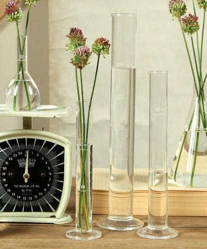 10 Easy Pieces: Lab Glass Vases