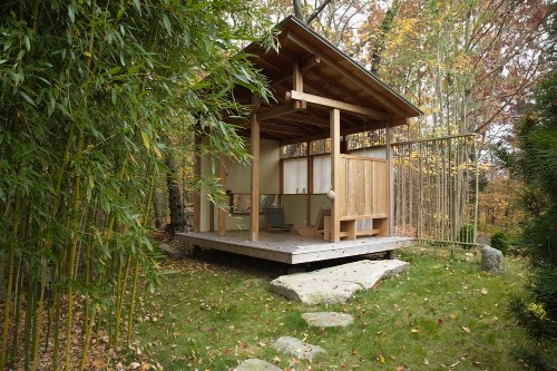 Outbuilding of the Week: A Teahouse on the Connecticut Coast