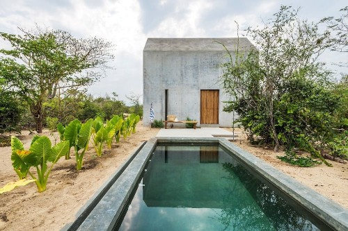 One Bedroom, Desert View: A Tiny Casita in Mexico, Swimming Pool Included