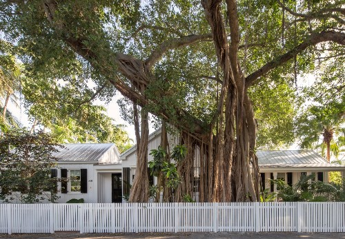 Key West Classic: A Vintage Beach House with Modern Curb Appeal