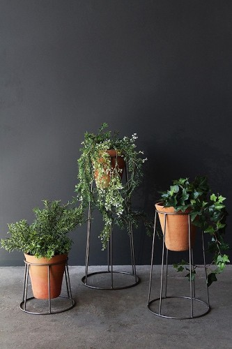 Object of Desire: Metal Planter Stands