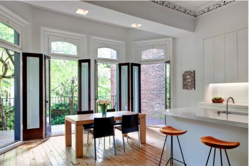 Before and After: A Garden Duplex in a Historic Chelsea Townhouse
