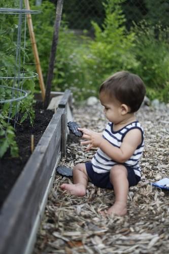 Garden Visit: A Family Friendly Vegetable Garden (Chickens Optional)