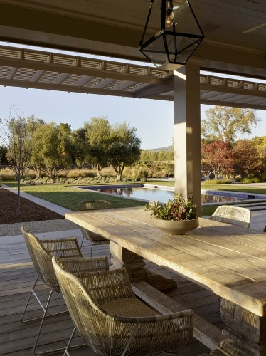 Swimming Pool of the Week: A Dive into a Napa Valley Landscape