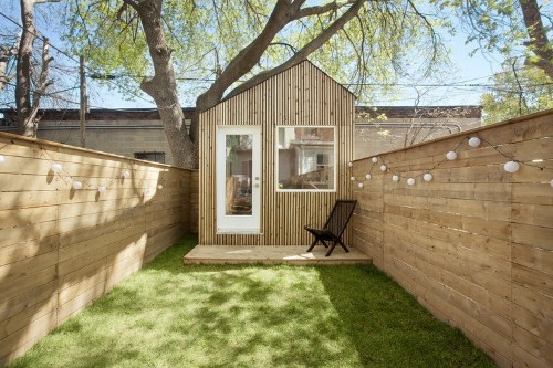 Family Affair: An Architect's Work Studio in a Toronto Garden
