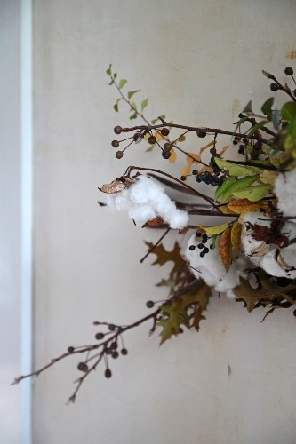 DIY: A Winter White Holiday Bough
