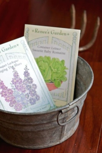 10 Easy Pieces: Heirloom Seeds for Spring