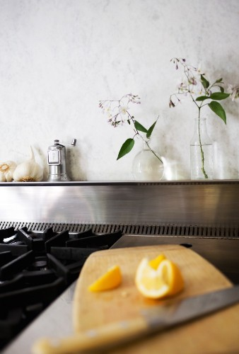 My Dirty Secret, or How I Learned to Live with a Marble Backsplash