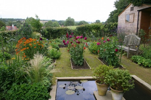 Before & After: A Kitchen Garden in Sussex, England