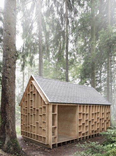 Outbuilding of the Week: Cabin in the Woods by Bernd Riegger Architektur