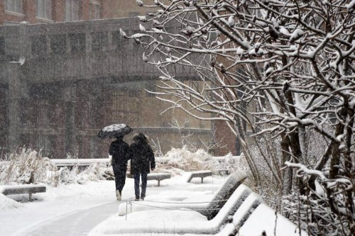 Icebreakers: 9 Eco-Friendly Tips to Clear Snow, from the High Line in NYC