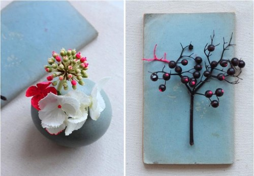 DIY: Spray-Painted Flowers, Valentine's Edition