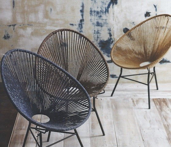 Currently Coveting: 5 Lounge Chairs with a Bohemian Vibe
