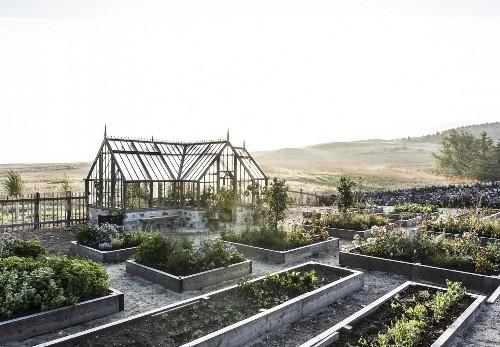 Killiehuntly Farmhouse: An Organic Garden in the Scottish Highlands