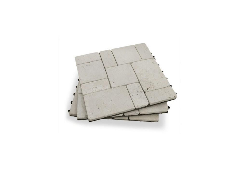 Stone Deck Tiles: 10 Ideas for an Instant Outdoor Floor
